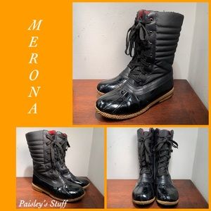 Merona Ladies Plaid Lined Boots